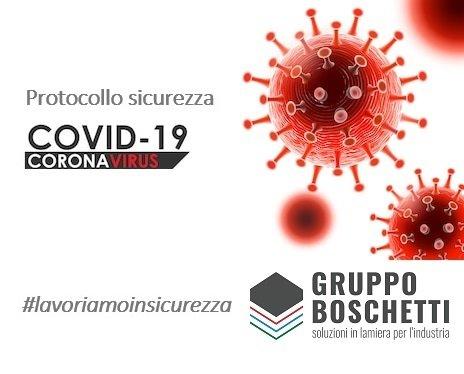 MISURE PRECAUZIONALI ADOTTATE IN PREVENZIONE AL RISCHIO CONTAGIO COVID-19