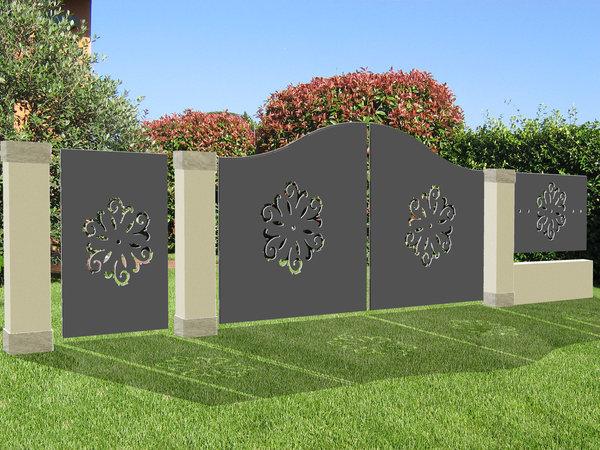 Un nuovo modo per realizzare la recinzione della propria casa - Recinzione casa prezzi ...